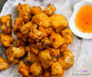 Irrisistable Vegan Cauliflower Popcorn