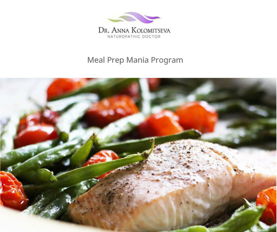 Meal Prep Mania Program